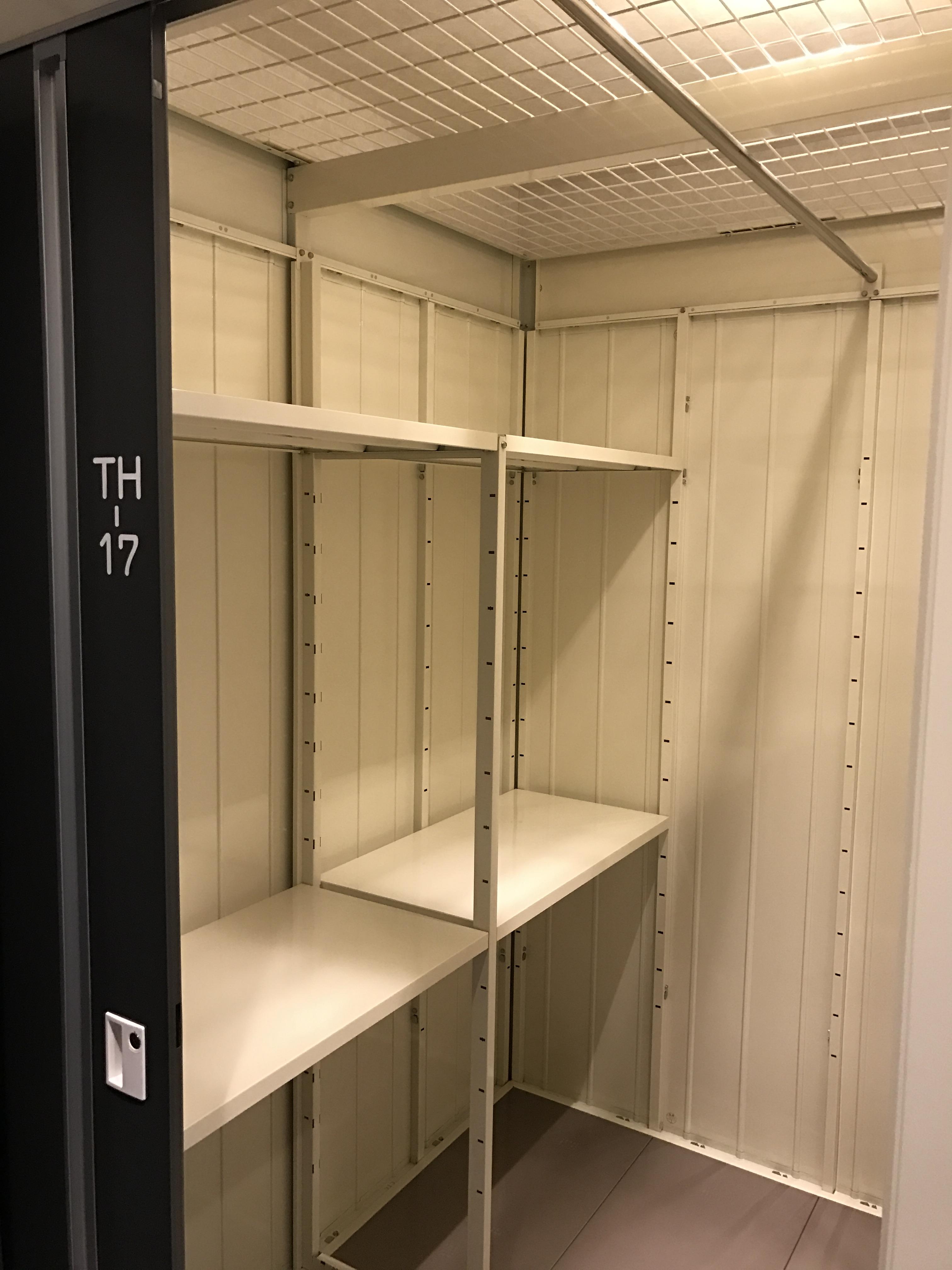 「INABA96」川口東領家店 トランクルームの内観です