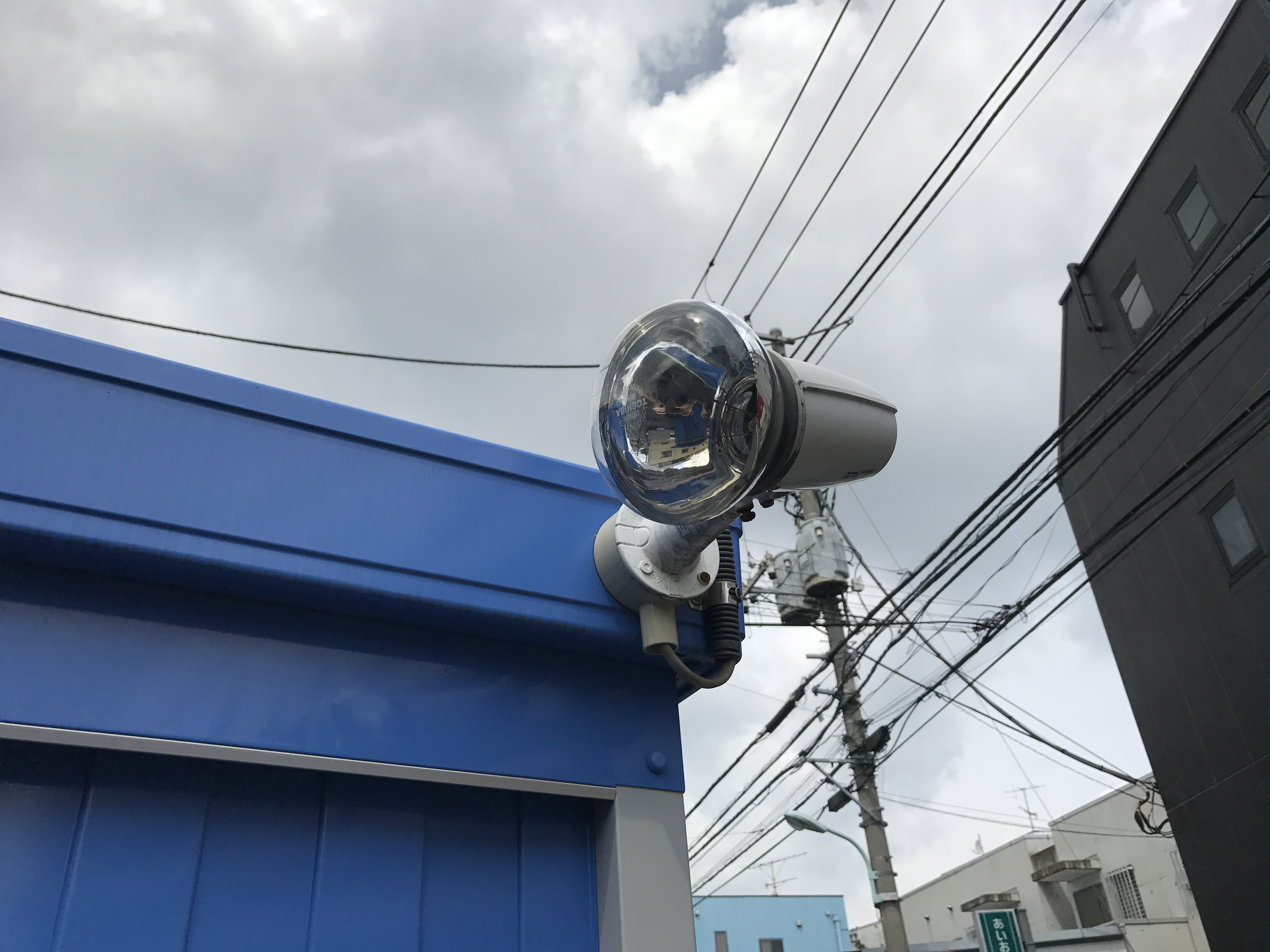 世田谷店 夜間照明も完備