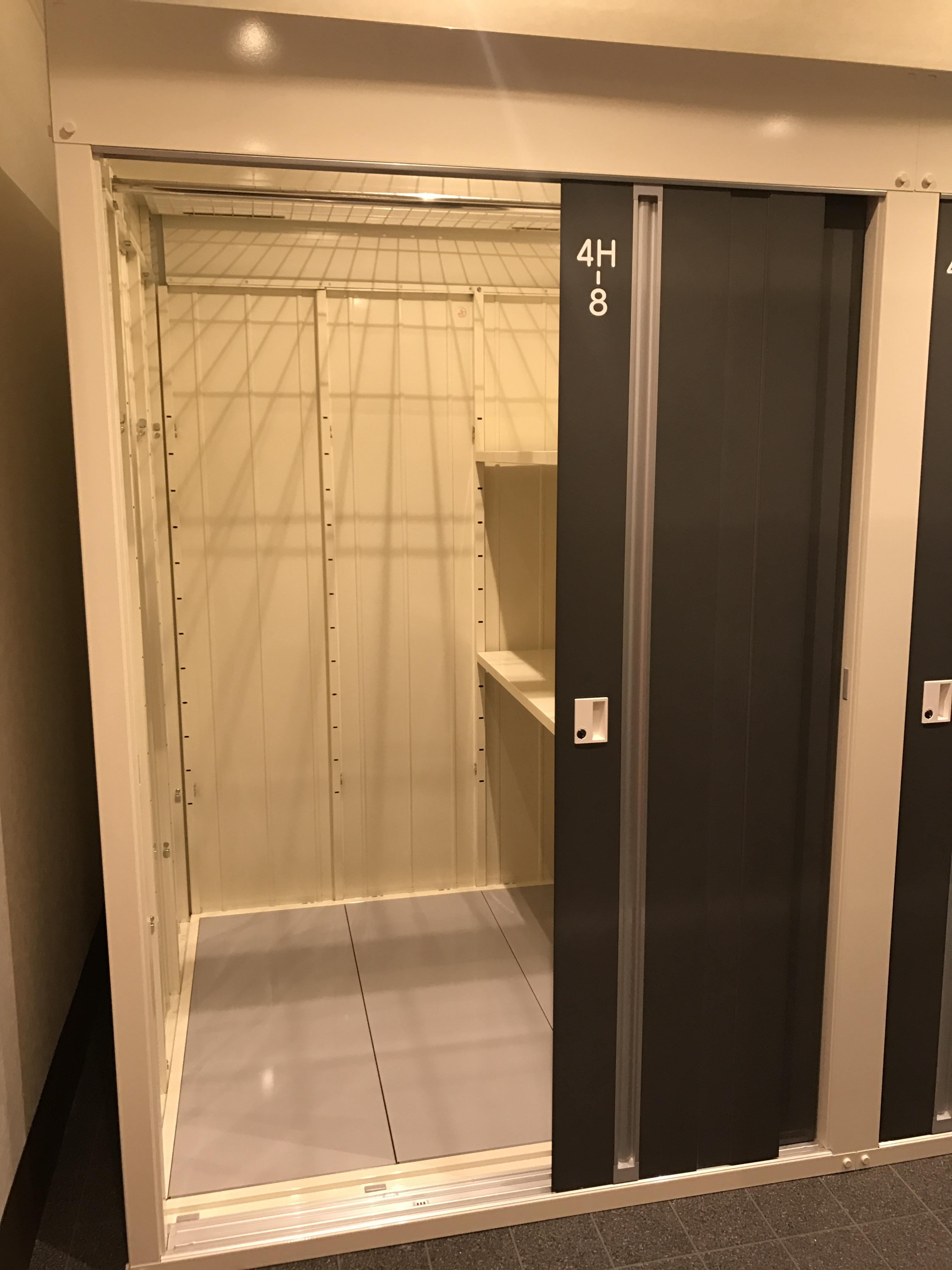 INABA96 本庄見福店 TFタイプ 1.9 m2約1.1畳1.37 × 1.37 × 2.30