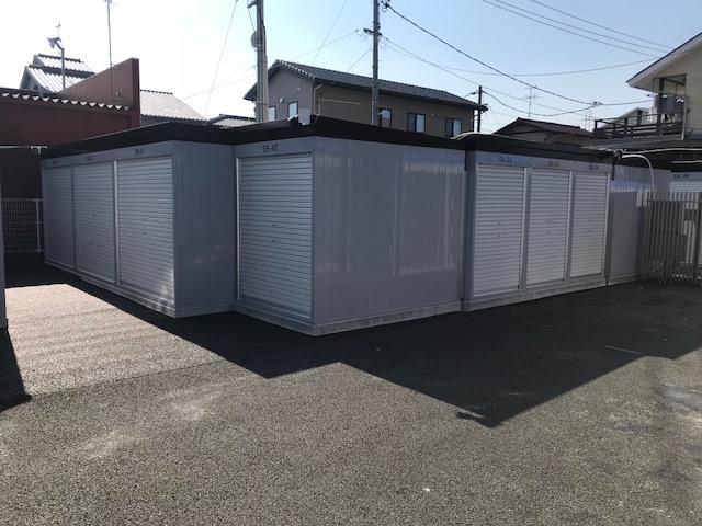 西川原店 増設したシャッタータイプ