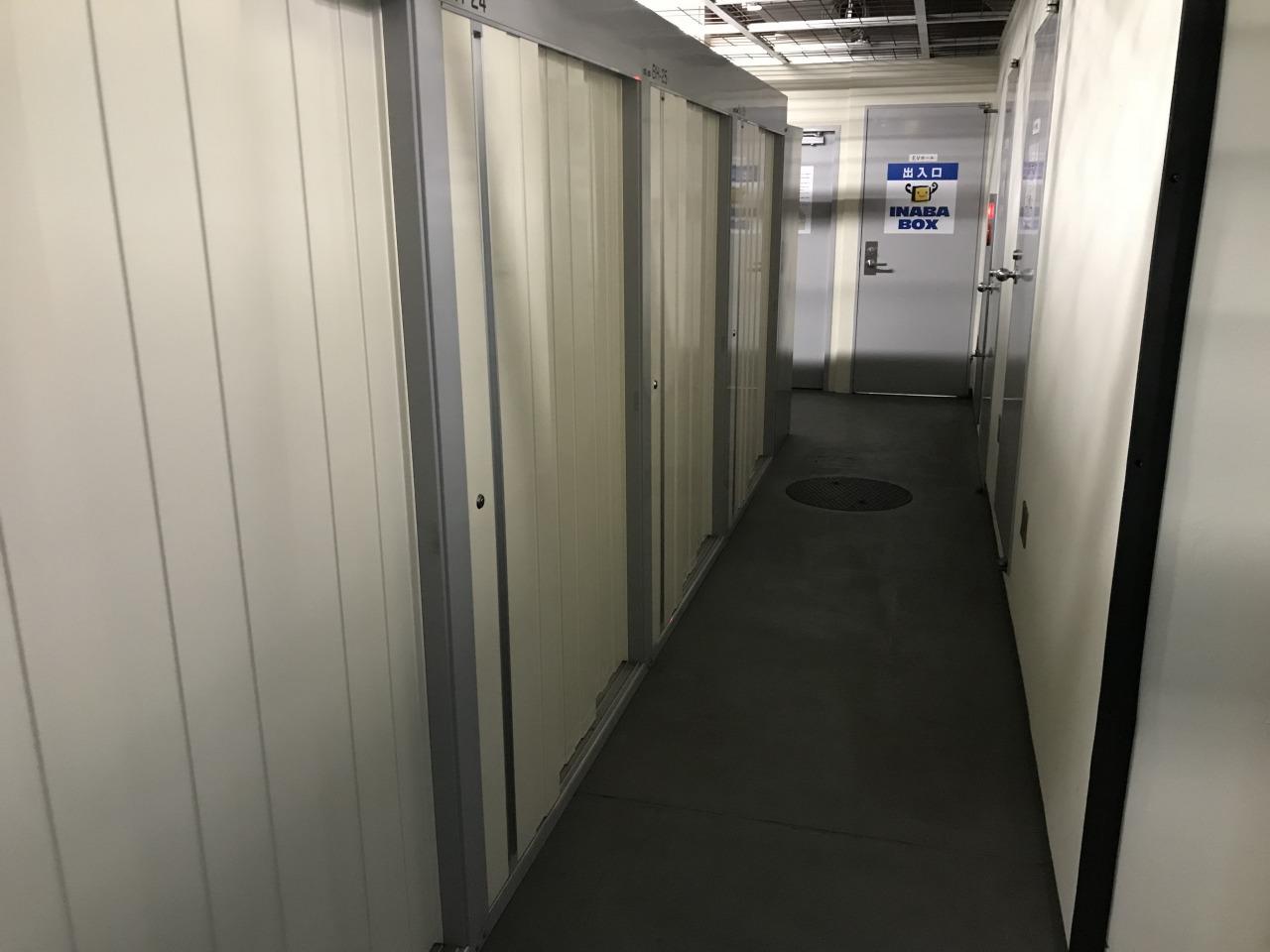 蒲田東口店 倉庫タイプのトランクルームです