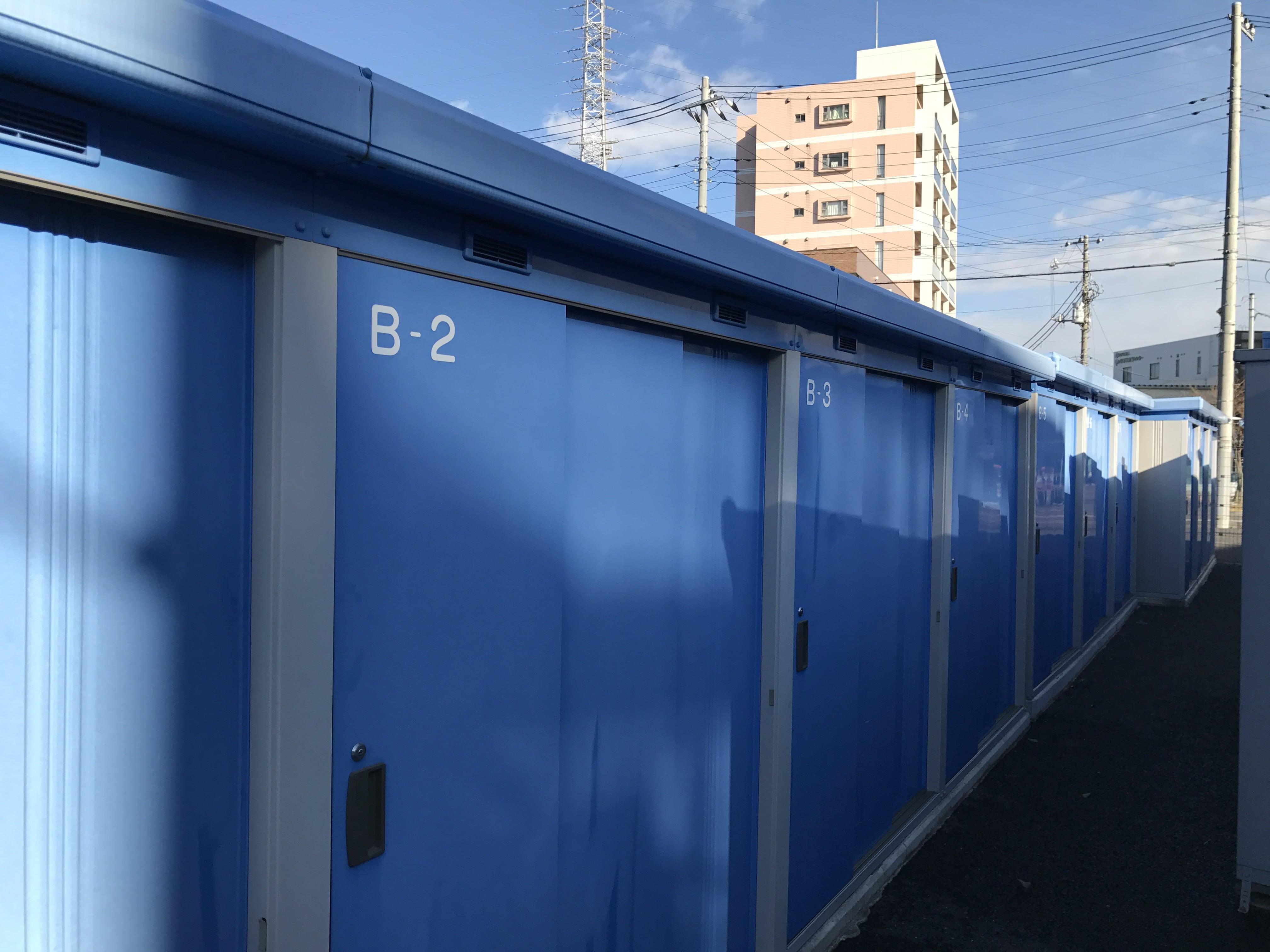鳩ヶ谷駅前店 トランクルームの外観1
