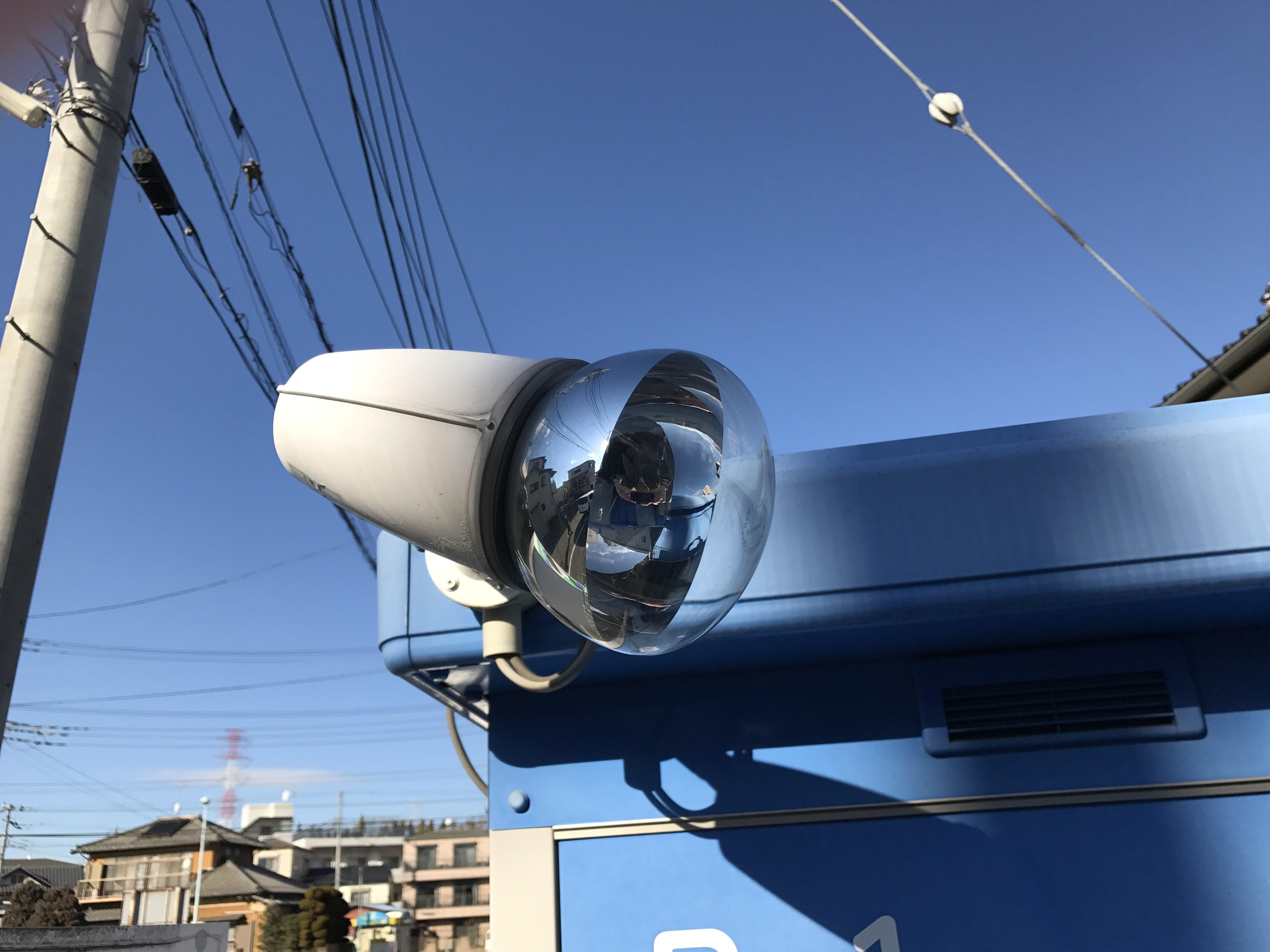 鳩ヶ谷駅前店 夜間照明も備わっています