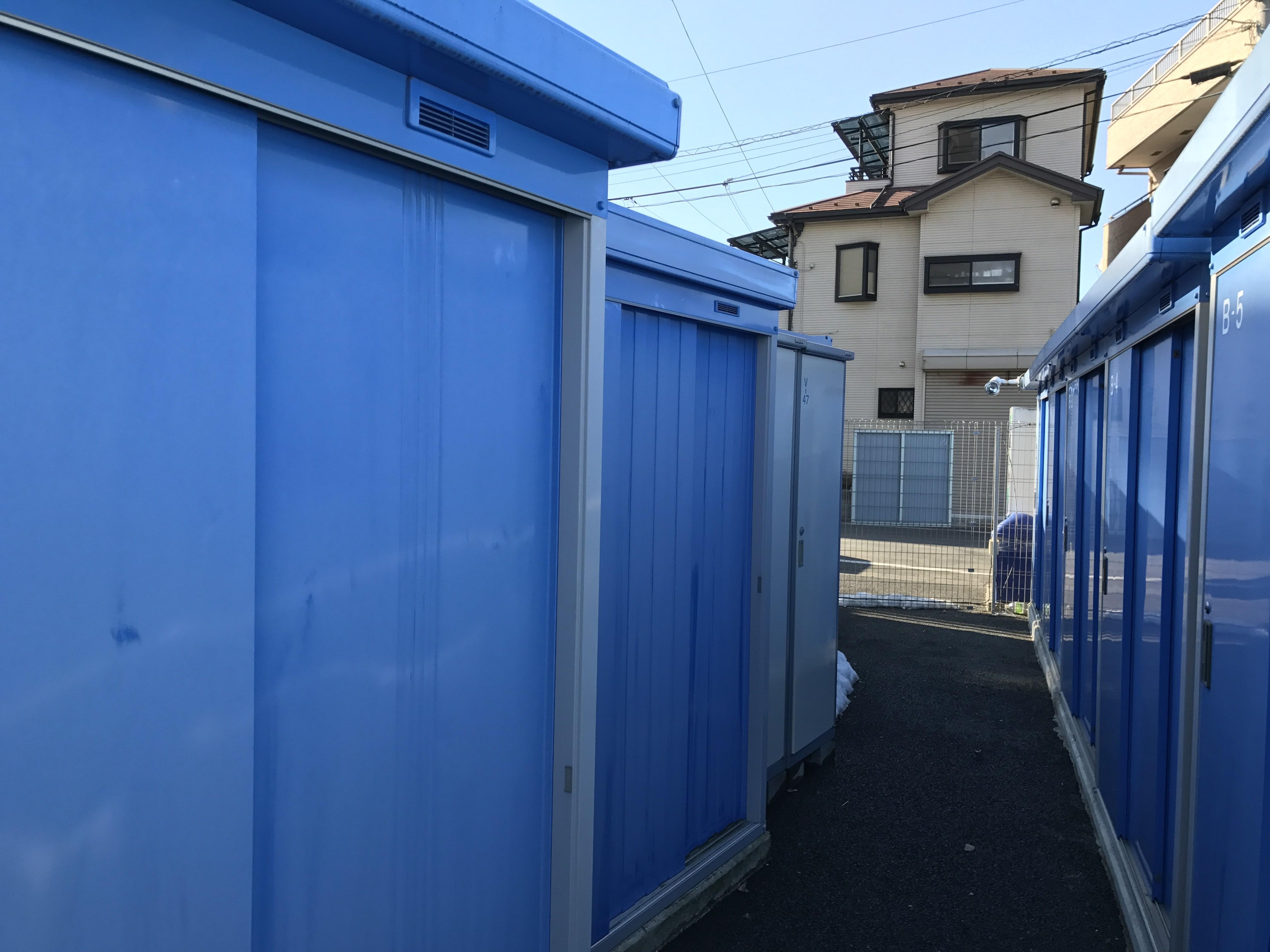 鳩ヶ谷駅前店 トランクルームの外観2