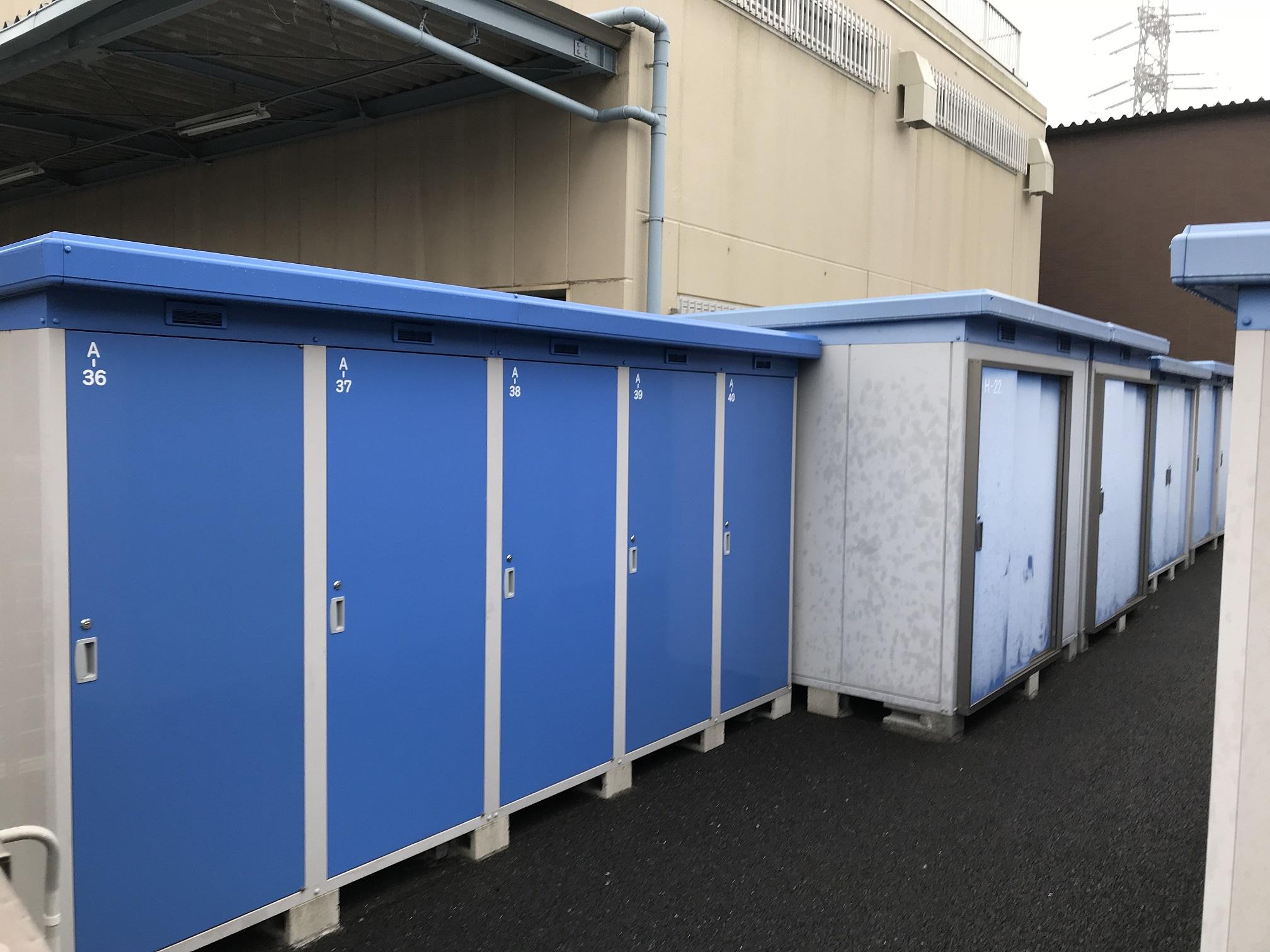 船橋店 トランクルームは幅広く取り扱っています