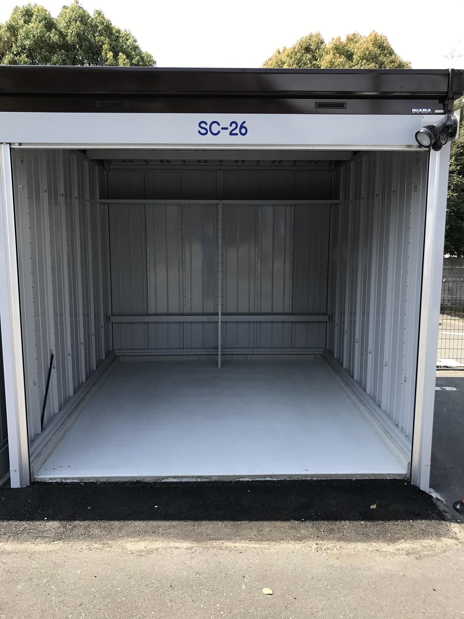 戸塚深谷町店 トランクルームの内観2