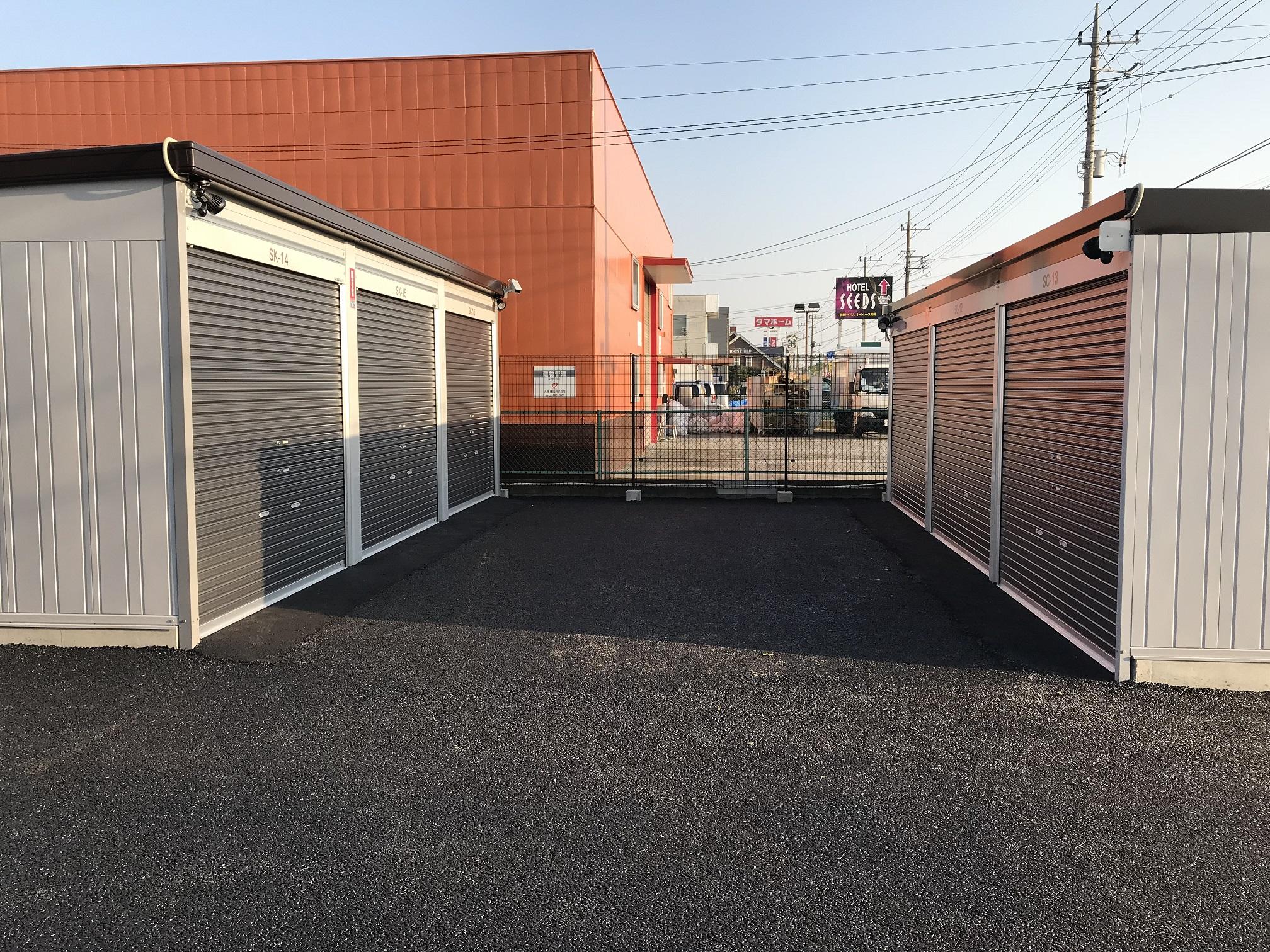 伊勢崎宮子店 共有スペースは十分に確保されています