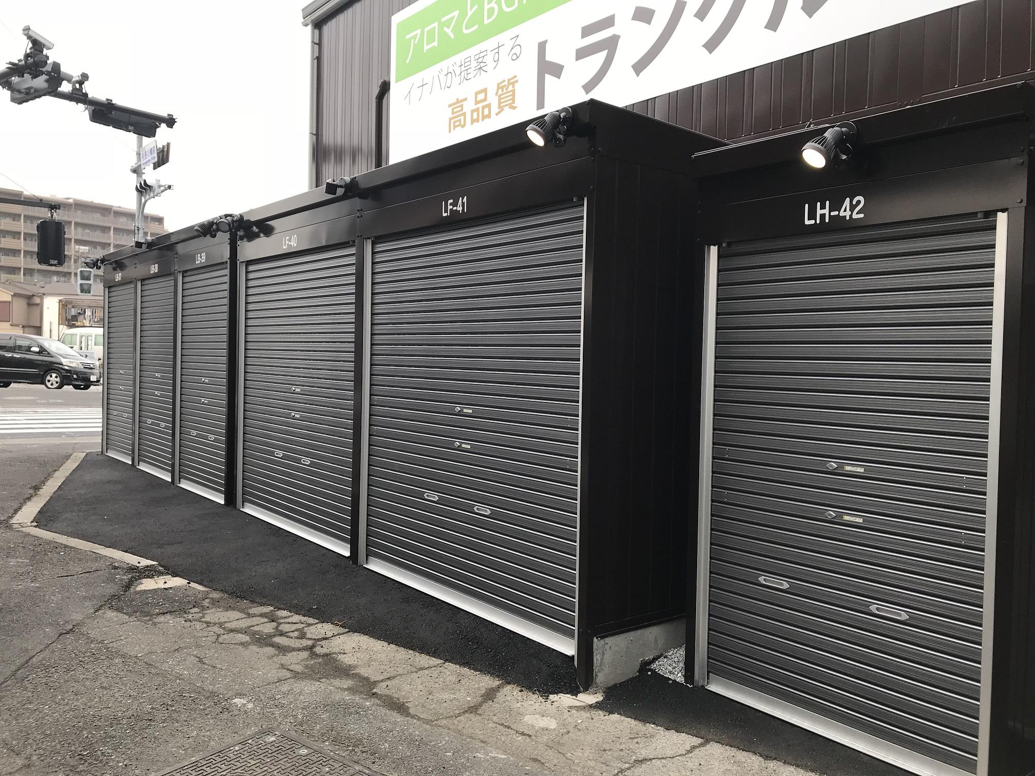 【3月1日OPEN】西保木間店 人気のガレージです