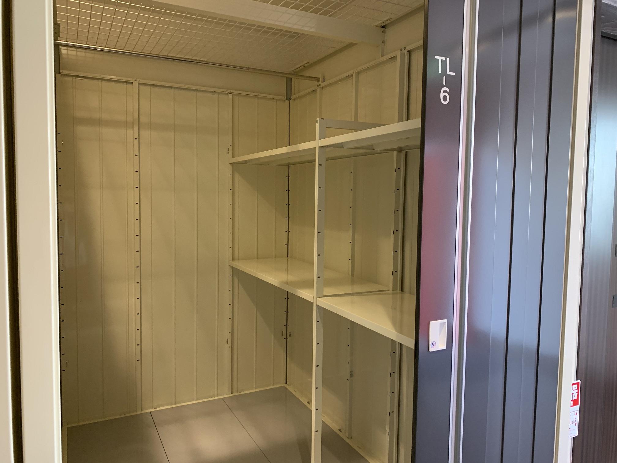 INABA96西保木間店 お洋服をハンガーにかけたまま収納することが可能です