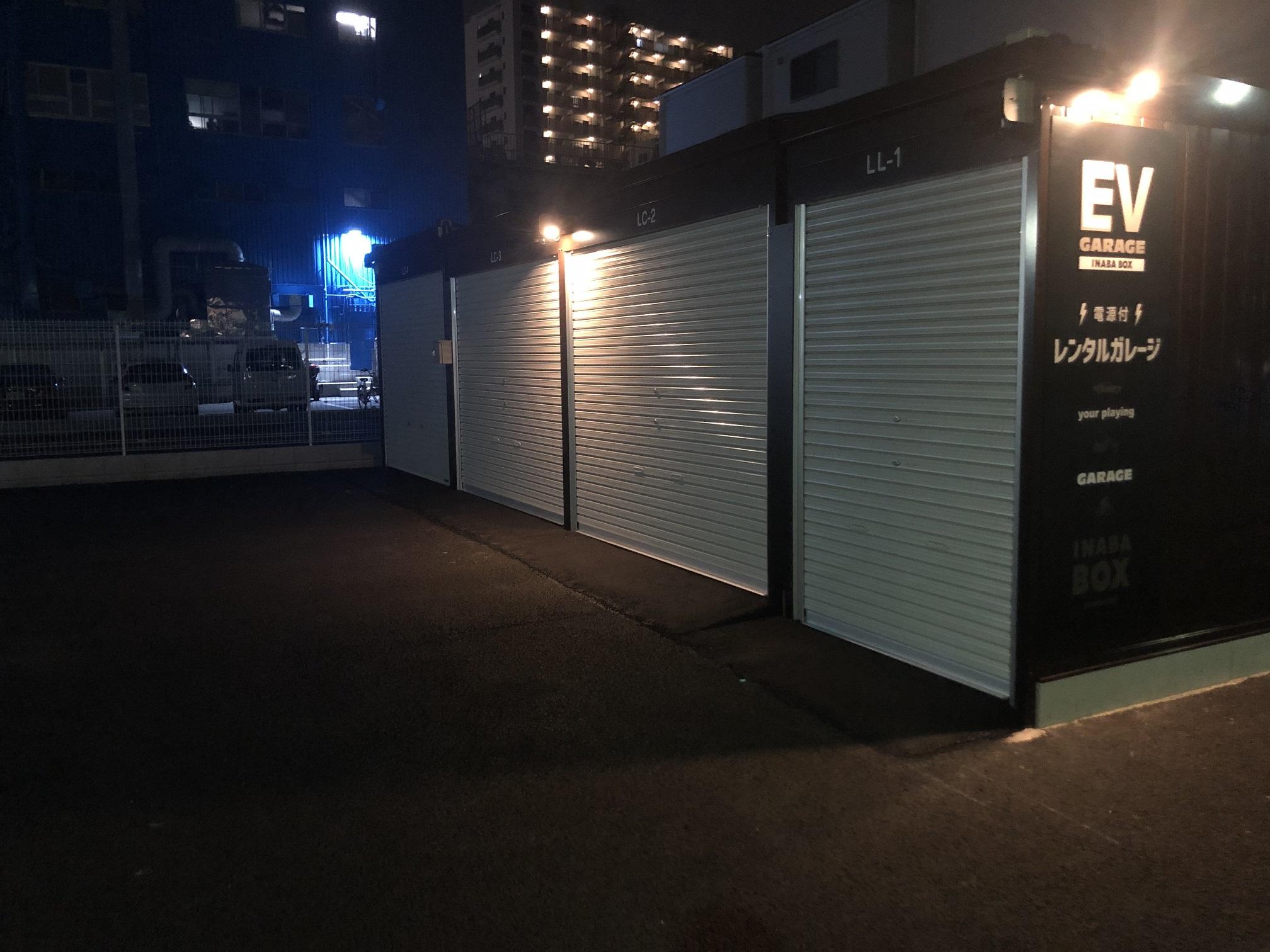 東四つ木2丁目店 照明付きで夜間も安心