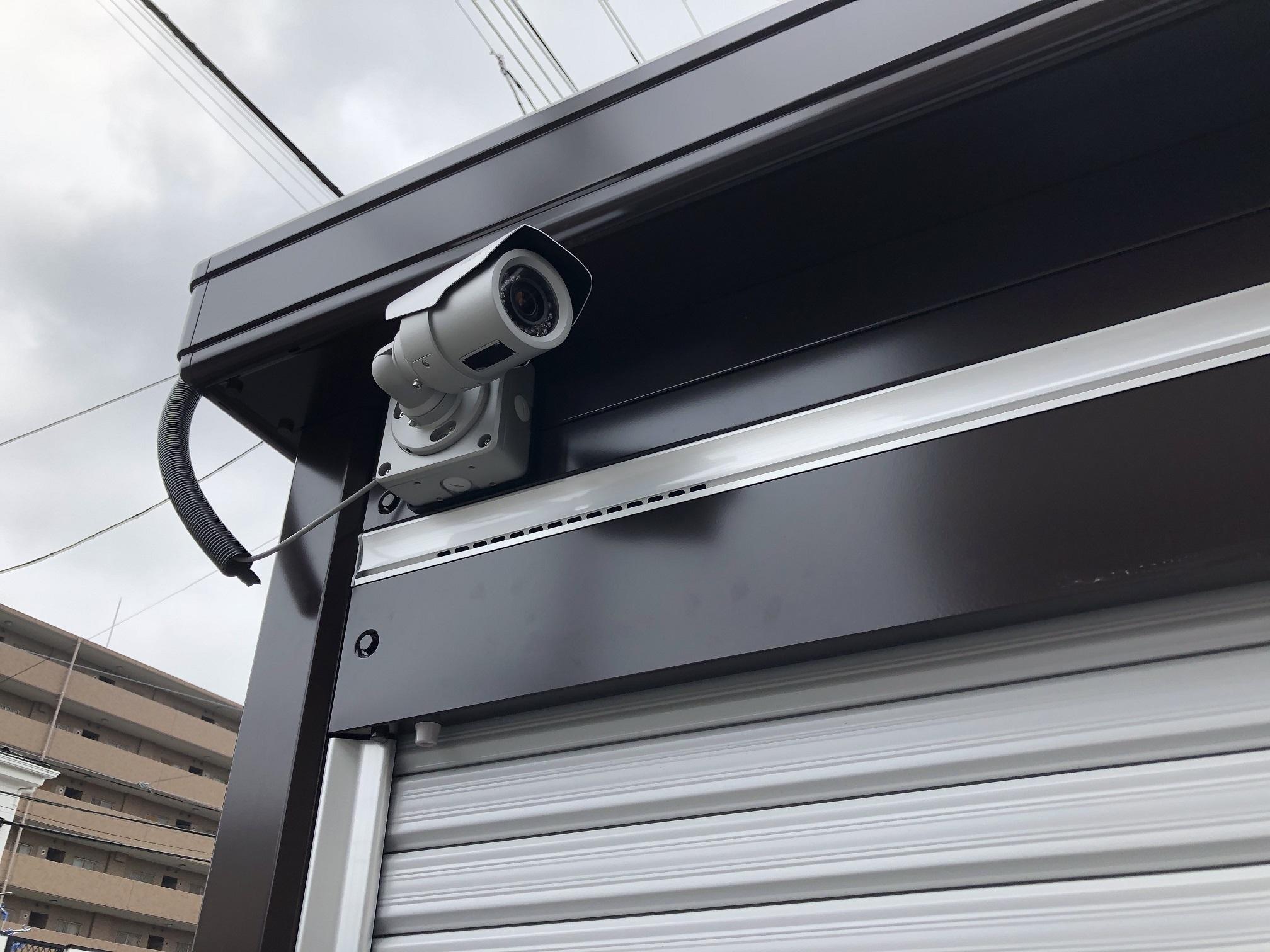 【6月1日新規OPEN】川口南町店 ガレージエリアは防犯カメラにて監視中