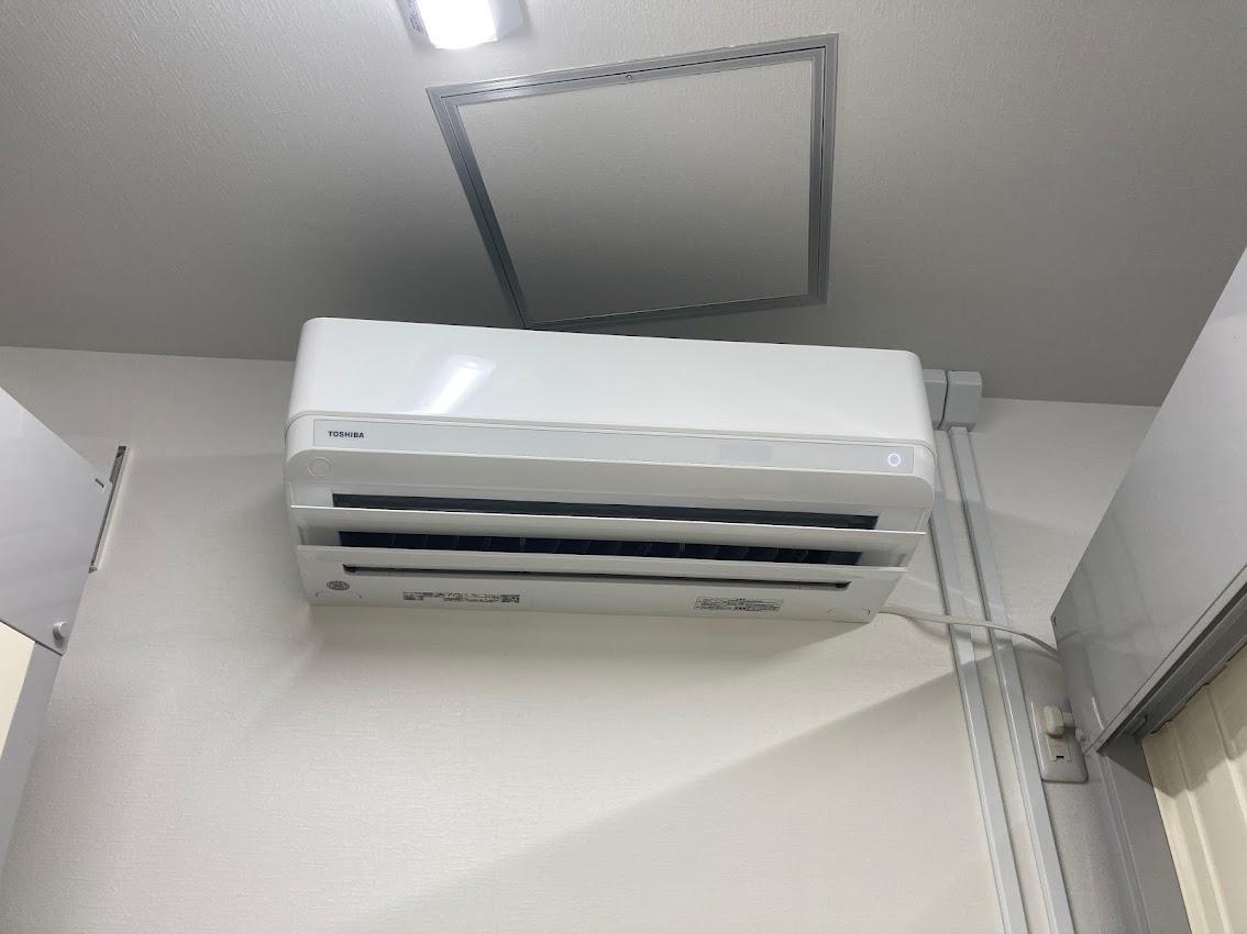 【新規オープン】鶴舞3丁目店 エアコン