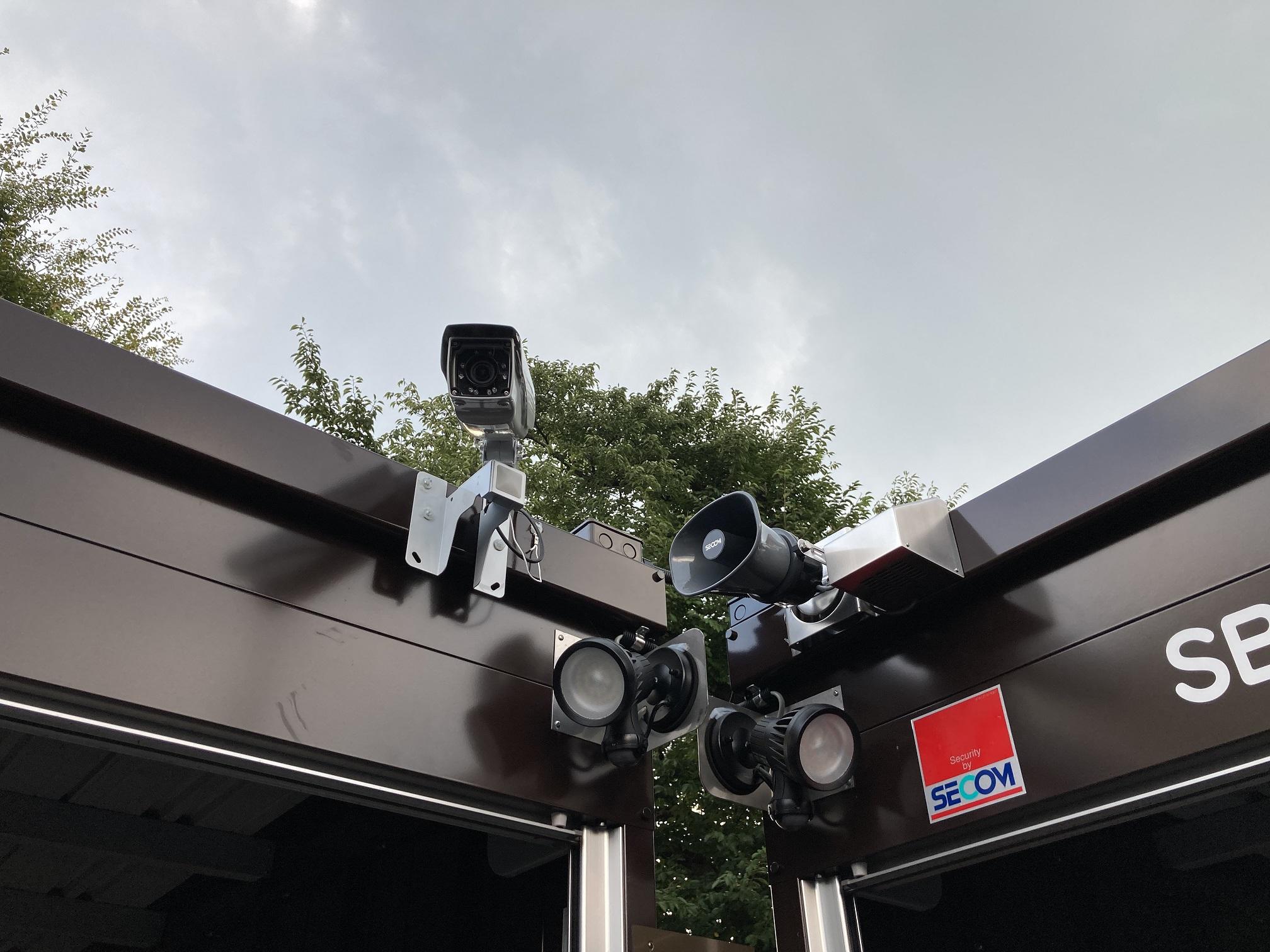 【8月31日オープン】川越南台店 防犯カメラ、通路灯完備